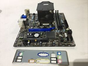 MSI H61M-E23 (B3) I3-2120 3.3GHz 4GB DDR3 Motherboard Bundle