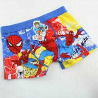 Boy underwear Spider-Man cotton children pantie shorts kid accessories Wholesale