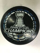St. Louis Blues 2019 Stanley Cup Champions Team Champs NHL Hockey Puck