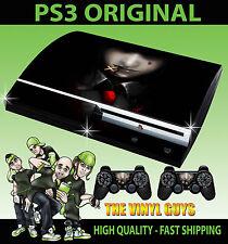 PLAYSTATION PS3 ORIGINALE Adesivo Alucard HELLSING 001 VAMPIRO SKIN e 2 SKIN PER PAD