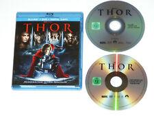Thor (Blu-ray + DVD) - Portman, Hemsworth,Skarsgard, Russo, Hopkins