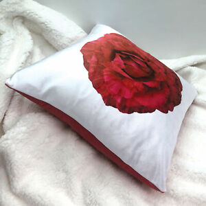 "Pillow, 100% Soft Velvteen Polyester, Machine Washable, 16x16"", Floral Prints"