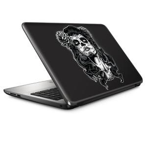 Laptop Skin Wrap Universal for 13 inch - Sugar Skull Girl dia de los meurtos