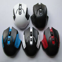 Practical 800/1200/1600DPI 2.4GHz Wireless Gaming Mouse for Computer PC Laptop