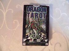 Le Dragon Tarot jeu de Peter Pracownik, ésotérisme, magie, mythe, tarot, vintage
