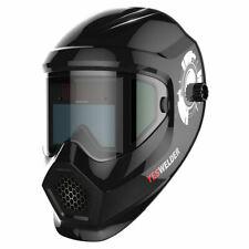 Anti Fog Up True Color Solar Power Auto Darkening Welding Helmet Weld Hood