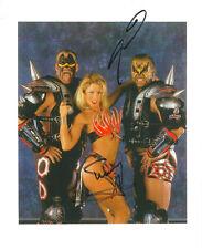 m596 Road Warrior Animal & Sunny signed wrestling 8x10 w/COA