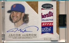 2016 Topps Dynasty * JACOB DEGROM * On Card Auto MAJESTIC Tag Patch * #4/10