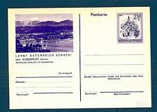 AUSTRIA - Cart. Post. - 1978-1980 - 2,50 S - 9020 Klagenfurt - 156.Auflage/9