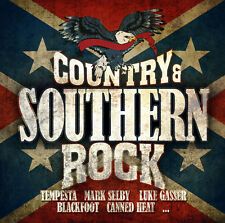 CD Country & Southern Rock d'Artistes divers