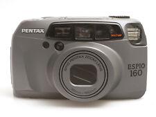 Pentax Espio 160 analoge Kleinbildkamera mit Zoom Objektiv 38-160mm