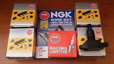MAZDA RX8 NGK COILS +NGK RACING SPARK PLUGS + NGK WIRES SERVICE KIT