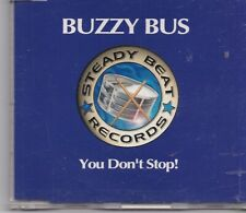 Buzzy Bus-You Dont Stop cd maxi single