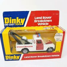 DINKY Die Cast Toys LAND ROVER Breakdown Vehicle 442 NEW