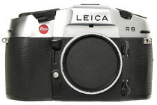 New Unused Leica R8 Single Lens Reflex SLR Film Camera Silver Germany 10080