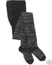 ATHLETA Krimson Klover Fairisle Tights, NIP, Sz Small/Medium, Charcoal Heather