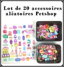Littlest Petshop Lot 20 Gros Accessoires Aléatoire : Maison, Voiture... Pet Shop