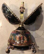 The Russian Nutcracker Collectible Musical Egg by Ardleigh Elliott 2004