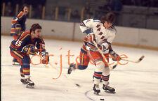 1974 Ron Greschner NEW YORK RANGERS - 35mm Hockey Slide