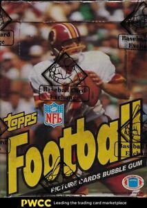 1983 Topps Football Wax Box, 36ct Packs, BBCE