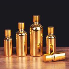 10 PIÈCES OR Vide bouteilles en verre Maquillage Cosmétique Récipient voyage