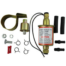 UNIVERSAL ELECTRIC FUEL PUMP GAS DIESEL CARBURETED E8012S WITH INSTALLATION KIT