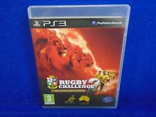 ps3 RUGBY CHALLENGE 2 The Lion's Tour Edition JONAH LOMU Game Playstation 3