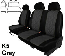 VW CRAFTER 2010,11,12,13,14,15 2016 ARTIFICIAL LEATHER TAILORED SEAT COVERS
