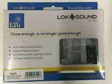 ESU 58429 LokSound V5.0 DCC 21 Pin MTC NEM6660 Sound Blank Decoder