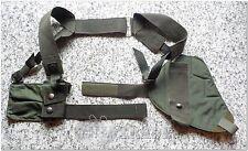 ORIGINAL Bundeswehr Schulterholster H&K P8 mit Doppelmagazintasche oliv NEUwerti