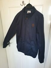 ONE TRUE SAXON - MENS NAVY CASUAL JACKET/COAT - SIZE S FESTIVAL INDIE VGC