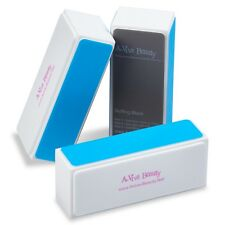 A-viva Beauty 4 Way Shine Nail Buffer Block, DIAMOND SHINE  3 Count