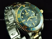 Invicta Men 300m Grand Diver Diamond Limited Ed Charcoal Dial Automatic TT Watch