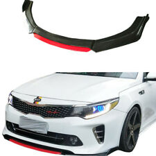 3PC Carbon Fiber Front Bumper Lip Splitter Body Kit for KIA Optima K5 11-15