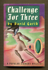 CHALLENGE FOR THREE by David Garth - 1945 Popular Library PB #84