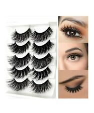Pairs Fashion Thick Soft Lengthen 3D Fake Eyelashes Eye Makeup Accessories Lash