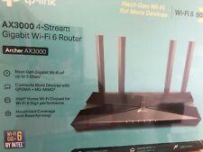 TP-LINK Archer AX3000 Dual Band Gigabit Wi-Fi 6 Router