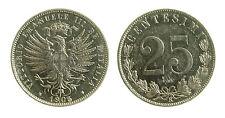 pcc1848_2) Vittorio Emanuele III (1900-1943) - 25 cent Valore 1903 CODA LUNGA R3
