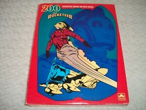 """Disney """"The Rocketeer"""" ~ 200 pc Puzzle (Rocketpack Shaped) ~ 14"""" x18"""" ~ Sealed"""