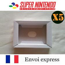5X Cale neuve pour boite de jeu Super Nintendo SNES - insert inner tray inlay