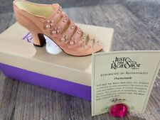Just The Right Shoe Promenade Pink #25018 by Raine