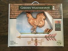 Good Directions Copper Rooster Garden Weathervane