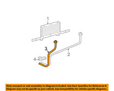 GM OEM Transmission Oil Cooler-Outlet pipe 15773661