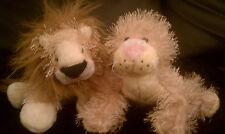 Webkinz Lion (HM006) and Lioness (HM193)
