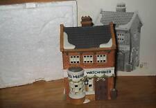 1988 - Department 56 - Dickens Village Series - Geo. Weeton Watchmaker
