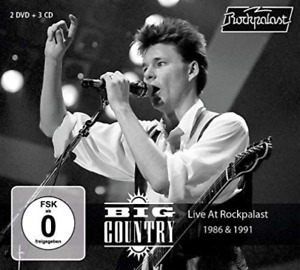 Big Country-Live At Rockpalast 1986 & 1991 CD NEW