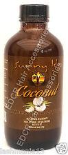Sunny Isle Coconut Jamaican Black Castor Oil 100% Natural No salt Add 4 oz.