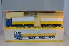 Dinky Toys 917 Mercedes Benz truck and trailer very near mint in box SUPERB