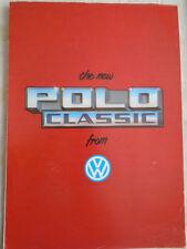 VW Polo Classic brochure Jan 1982