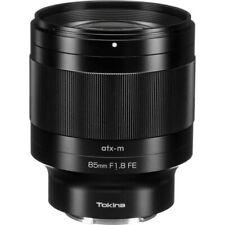 New TOKINA atx-m 85mm f/1.8 FE Lens for Sony E Mount Mirrorless Full-Frame